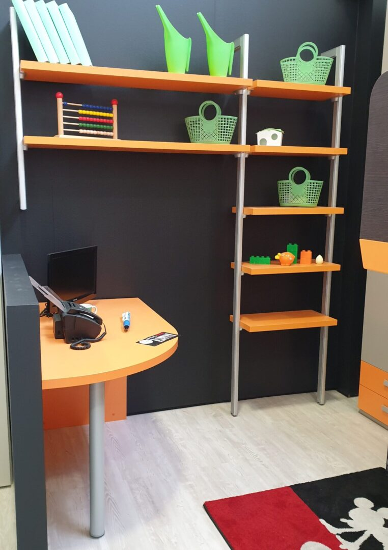Camerette – scrivania – libreria